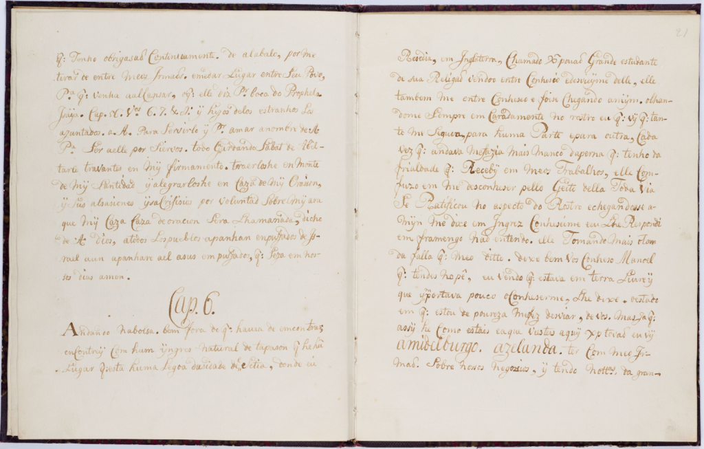 Manuel Cardoso de Macedo's La vida del buenaventurado Abraham